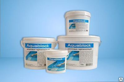 Акриловая гидроизоляция aquablock бетоноконтакт 12 кг за 2 недели отзывы