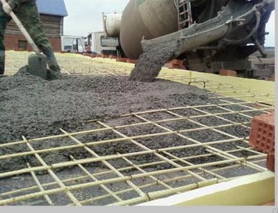 Бетонные смеси для дорог ландшафт бетон