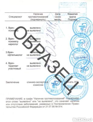 Медицинская справка форма-046 нужна ли водителям медицинская справка 2015