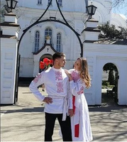 Свадебное платье в славянском стиле