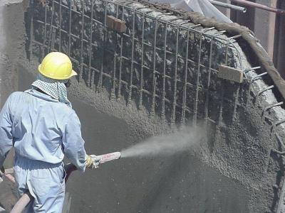 Строительная бетонная смесь инъекция бетона