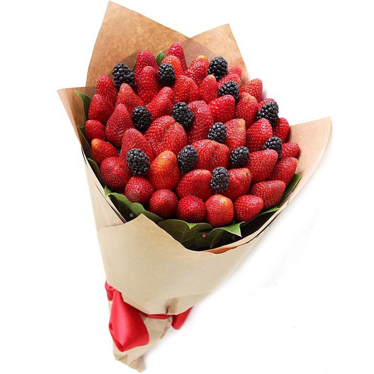 Свадьбу, ягодные букеты фото