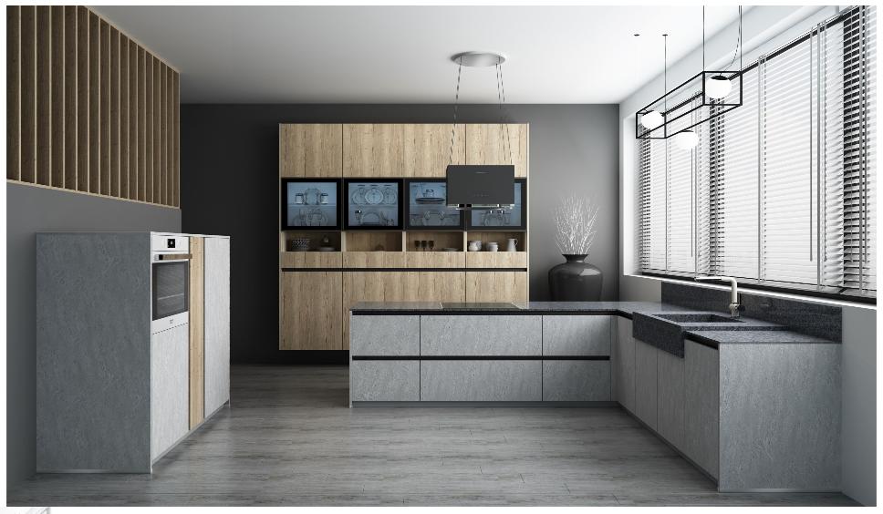Фасад бетон для кухни купить что лучше добавить в цементный раствор для прочности