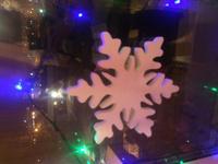Снежинки 40*40 новогодние