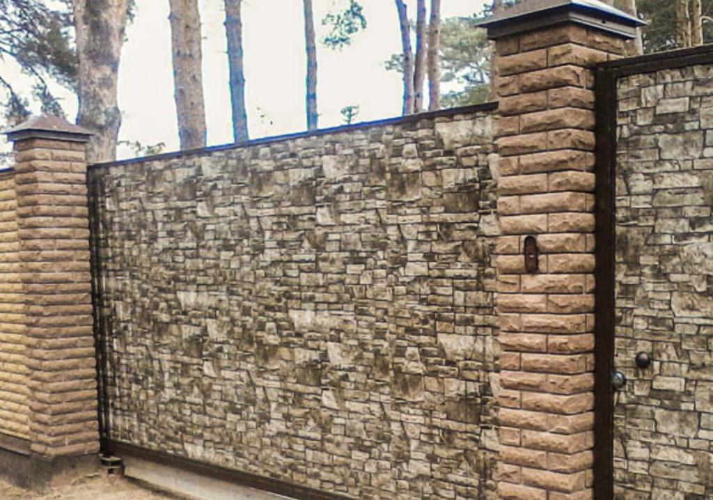 можете быть забор под камень из профнастила фото гигрофора