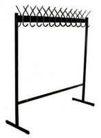 Вешалка гардеробная напольная (30 крючков) 1,55х0,5х1,7 м