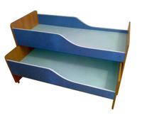 Кровать детсад двойная раздвижная 0,7х1,8