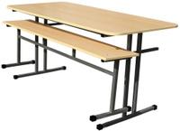 Стол обеденный м/каркас 1,4х0,6х0,75