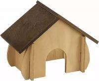 Деревянный домик 4648 для хомяков